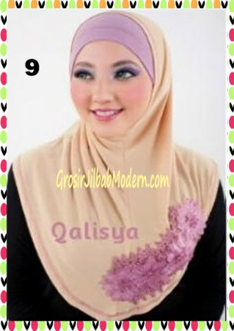Jilbab Syria Ziyan No 9 Cream