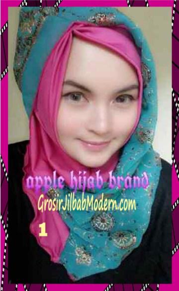 Jilbab Syrpash Instant Nicole Premium by Apple Hijab Brand No 1