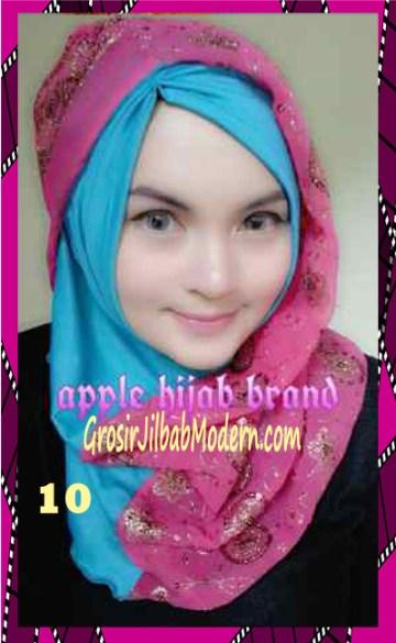 Jilbab Syrpash Instant Nicole Premium by Apple Hijab Brand No 10