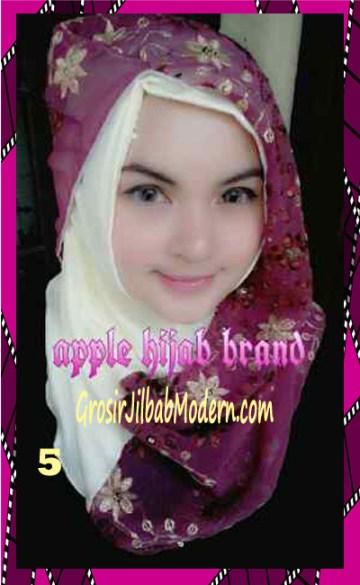 Jilbab Syrpash Instant Nicole Premium by Apple Hijab Brand No 5