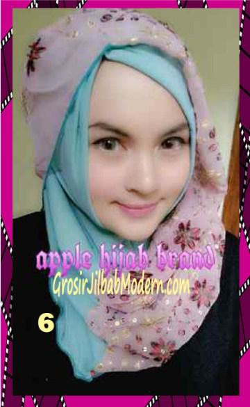 Jilbab Syrpash Instant Nicole Premium by Apple Hijab Brand No 6