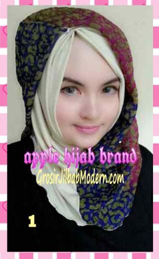 Jilbab Syrpash Instant Nicole by Apple Hijab Brand No 1
