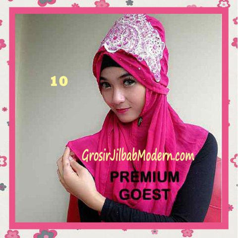 Jilbab Instant Mirabel Original by GOEST No 10 Fanta