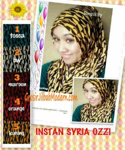 Jilbab Instant Syria Ozzi
