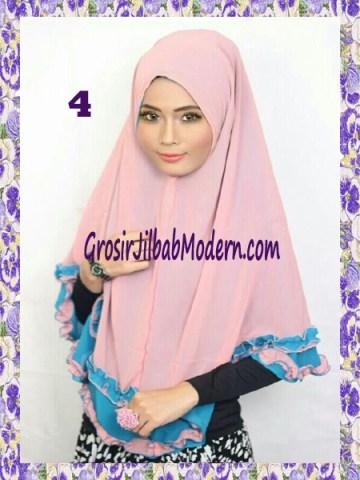 Jilbab Khimar Cantik Yasmine No 4