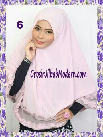 Jilbab Khimar Cantik Yasmine No 6