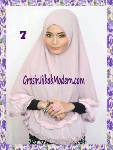 Jilbab Khimar Cantik Yasmine No 7