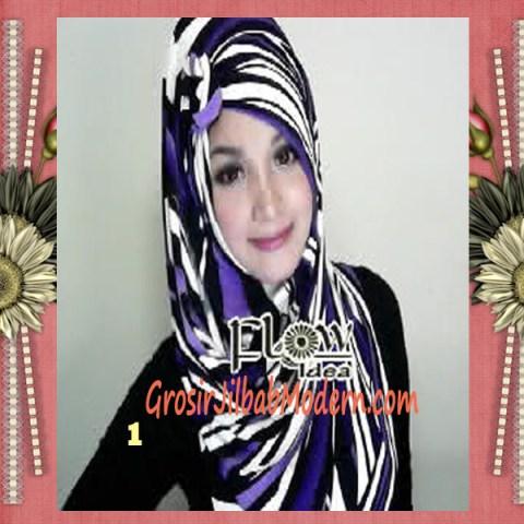 Jilbab Pashmina Syria Lollipita by Flow Idea No 1 Ungu