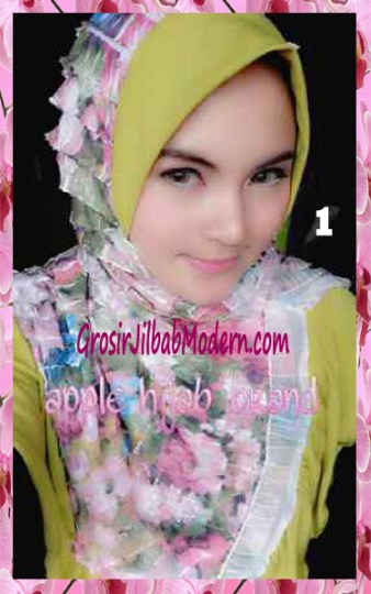 Jilbab Syria Annete by Apple Hijab Brand Unik No 1