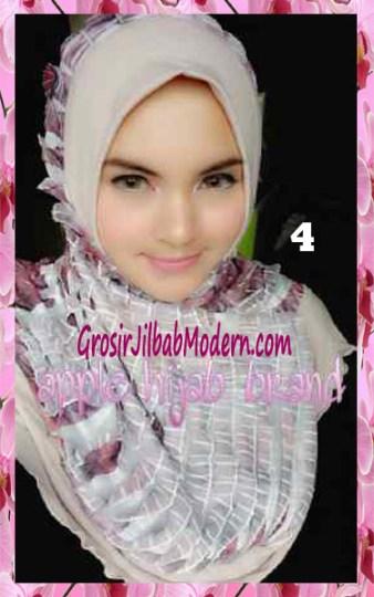 Jilbab Syria Annete by Apple Hijab Brand Unik No 4