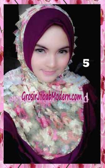 Jilbab Syria Annete by Apple Hijab Brand Unik No 5