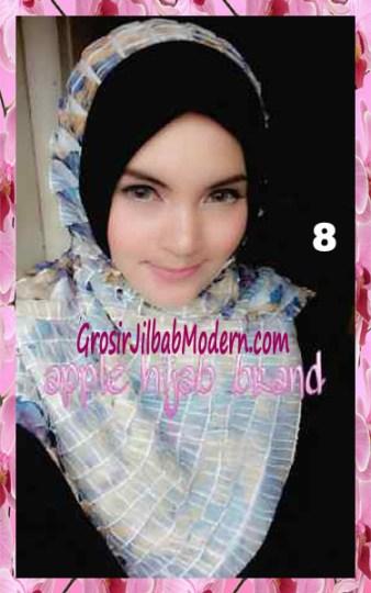 Jilbab Syria Annete by Apple Hijab Brand Unik No 8