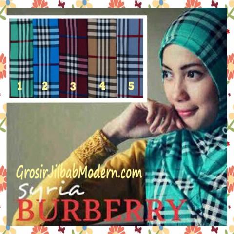 Jilbab Syria Burberry