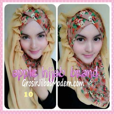 Jilbab Syria Hoodie Flowerist No 10 Cream