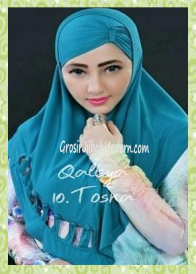 Jilbab Syria Modis Nuha Original By Qalisya No 10 Toska