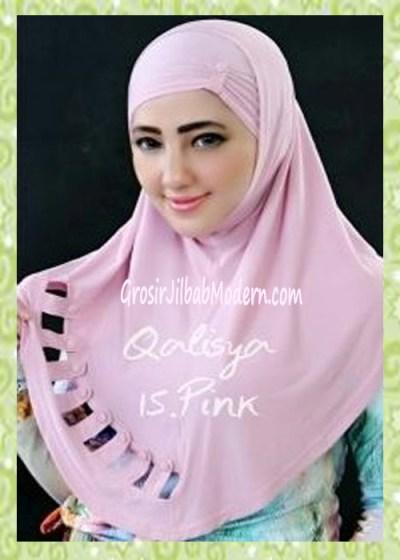 Jilbab Syria Modis Nuha Original By Qalisya No 15 Pink