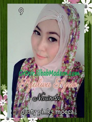 Jilba Syria Syalwa Modis by Narinda No 9 Dusty Pink - Mocca
