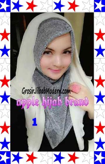 Jilbab Exclusive Jolie Gliter Seri 2 No 1