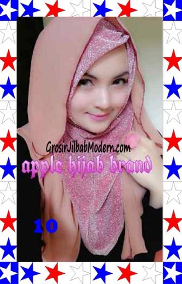 Jilbab Exclusive Jolie Gliter Seri 2 No 10