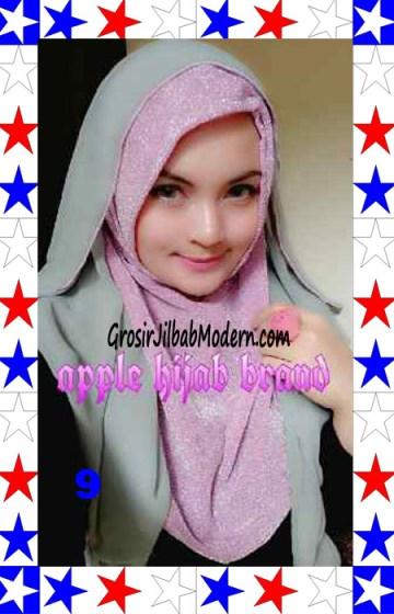 Jilbab Exclusive Jolie Gliter Seri 2 No 9