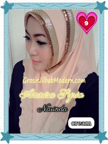 Jilbab Syria Annisa by Narinda Modis No 9 Cream