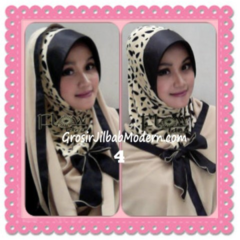 Jilbab Syria Hoodie Savana Trendy by Flow Idea No 4 Cream