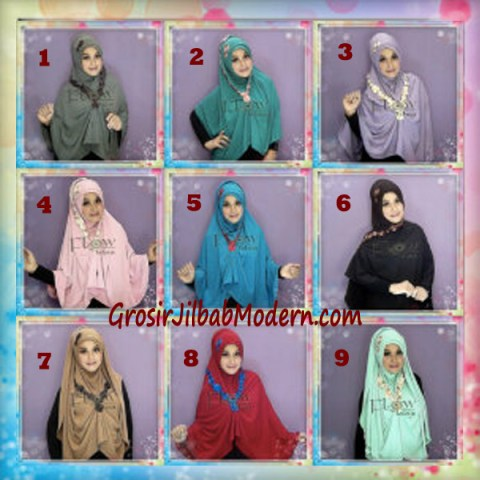 Jilbab Syria Jumbo Faizia Modis Original by FLOW Idea Series