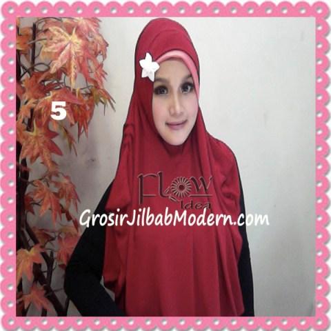 Jilbab Syria Jumbo Syar'i Jasmine by FLOW Idea No 5 Merah
