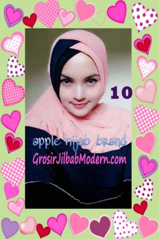 Jilbab Syria Khayra Stylish by Apple Hijab Brand No 10