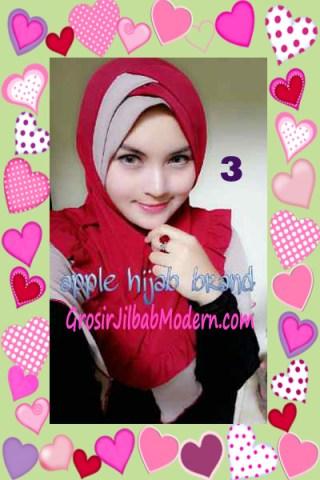 Jilbab Syria Khayra Stylish by Apple Hijab Brand No 3