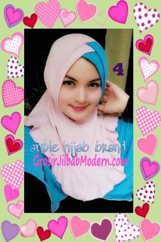 Jilbab Syria Khayra Stylish by Apple Hijab Brand No 4