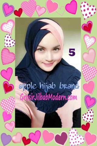 Jilbab Syria Khayra Stylish by Apple Hijab Brand No 5
