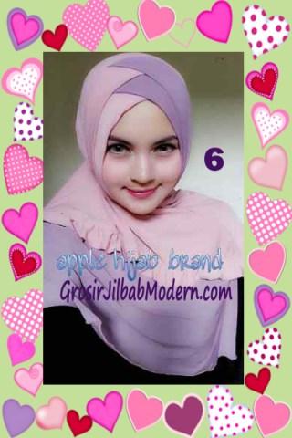 Jilbab Syria Khayra Stylish by Apple Hijab Brand No 6