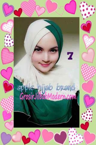 Jilbab Syria Khayra Stylish by Apple Hijab Brand No 7
