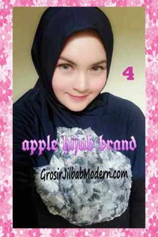 Jilbab Syria Kyle Frill Original by Apple Hijab Brand No 4