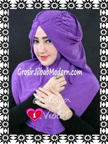Jilbab Syria Mumtaz by Qalisya Modis dan Trendy No 1 Violet