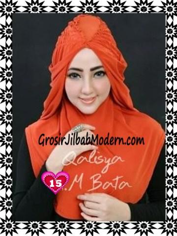 Jilbab Syria Mumtaz by Qalisya Modis dan Trendy No 15 Merah Bata