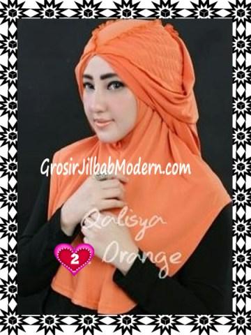Jilbab Syria Mumtaz by Qalisya Modis dan Trendy No 2 Orange