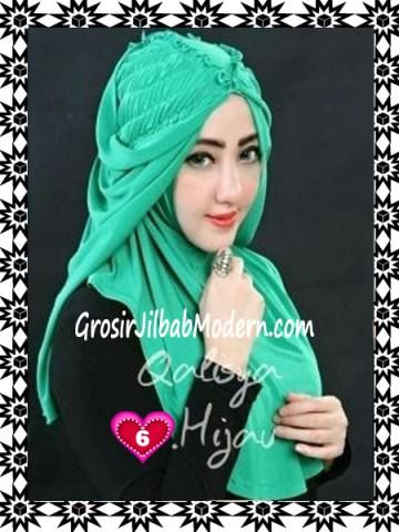 Jilbab Syria Mumtaz by Qalisya Modis dan Trendy No 6 Hijau