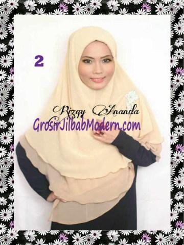 Jilbab Instant Khimar Alena Polos Seri 2 No 2