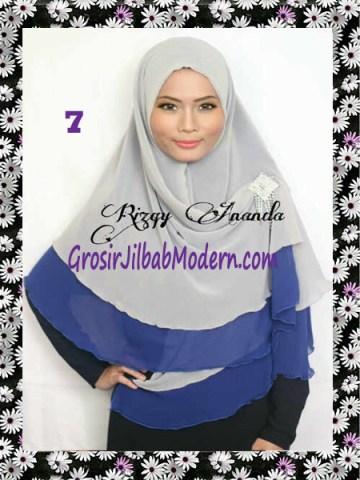 Jilbab Instant Khimar Alena Polos Seri 2 No 7