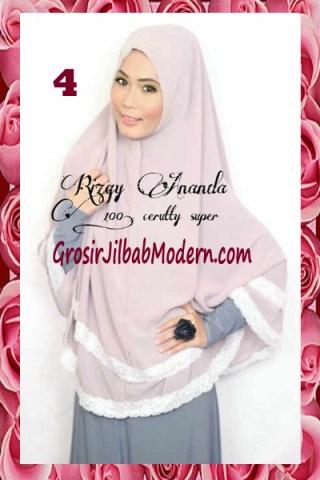 Jilbab Jumbo Cerutti Modern Halimah No 4 Dusty - Ungu
