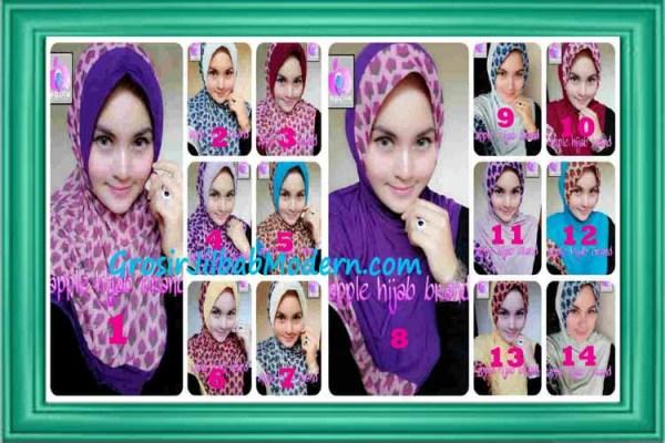 Jilbab Syria Daily Modis by Apple Hijab Brand Series