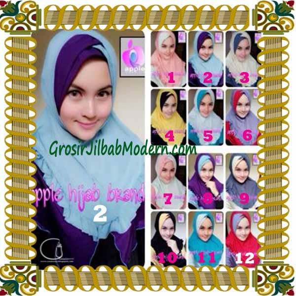 Jilbab Syria Khayra Seri 2 by Apple Hijab Brand Series