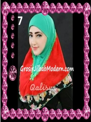Jilbab Syria Kombinasi Cantik Ahza by Qalisya No 7