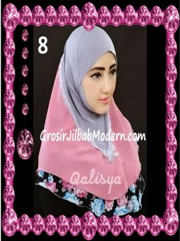 Jilbab Syria Kombinasi Cantik Ahza by Qalisya No 8