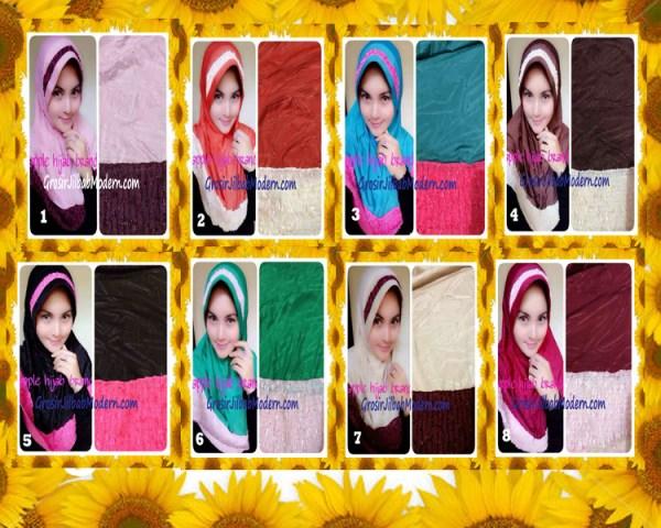Jilbab Syria Orin Etnik Emboss by Apple Hijab Brand Series