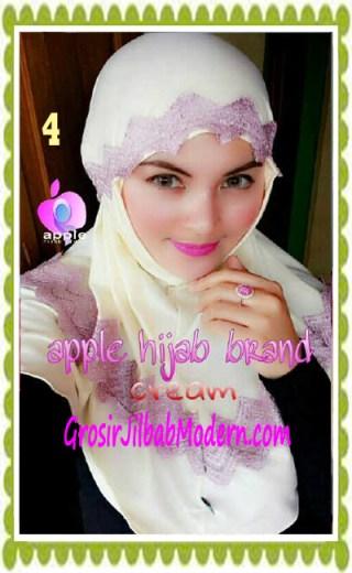Jilbab Syria Syar'i J3nna by Apple Hijab Brand No 4 Cream