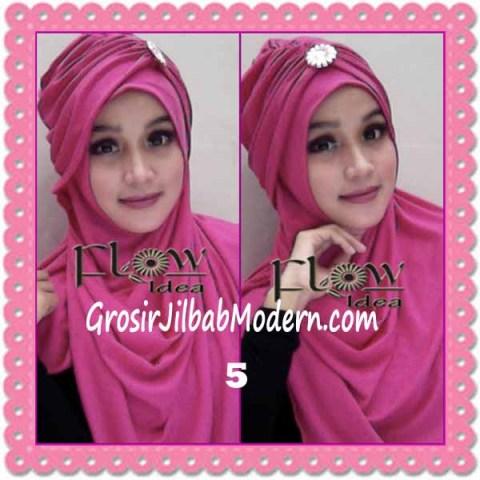 Jilbab Syria Topi Turban Almonda Trendy by FLOW Idea No 5 Fanta