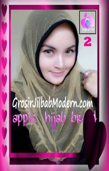 Jilbab Syria Unik Vienna Tutu by Apple Hijab Brand No 2 Hitam